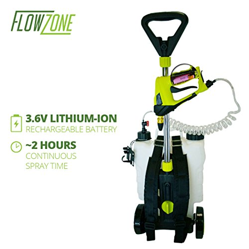 Battery Powered Garden Sprayer On Wheels Garden Ftempo
