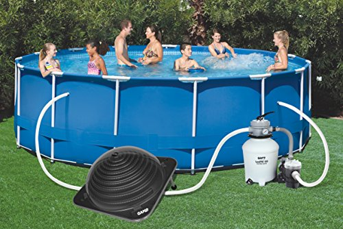 Game 4721 Solarpro Solar Pool Heater For Intex Bestway Above Ground And In Ground Pools
