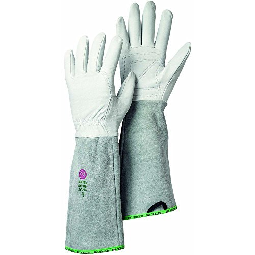 Garden-Rose-Size-6-X-Small-Durable-Goatskin-Leather-Gloves-with-Long-Cowhide-Cuff-for-Extra-Protection-in-Off-White-0