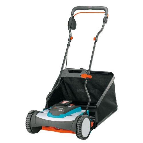 Gardena-4025-U-15-Inch-25-Volt-32-amp-Lithium-Ion-Cordless-Push-Reel-Lawn-Mower-0