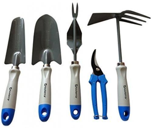 Gardening-Tools-5-Piece-Garden-Tool-Set-TrowelTransplanterWeederPruning-0
