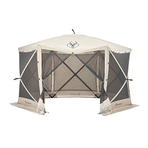 Gazelle 6 Sided Pop Up Portable Gazebo Screen Tent 8