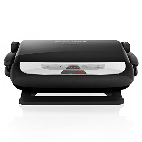 George-Foreman-GRP4800R-4-in-1-Multi-Plate-Evolve-Grill-Electric-Grill-Panini-Press-Grilling-Baking-and-Cupcake-Plates-Included-0-1