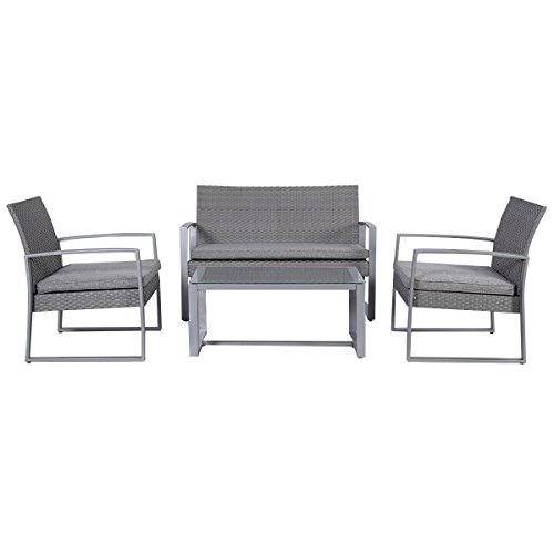 Giantex-4pc-Patio-Furniture-Set-Cushioned-Outdoor-Wicker-Rattan-Garden-Lawn-Sofa-Seat-0