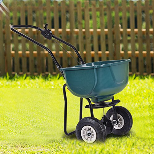 Giantex 65lbs Weight Capacity Seed Grass Spreader
