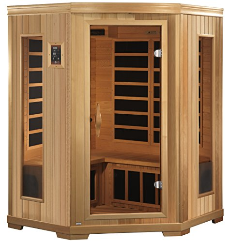 golden designs amz gdi 3356 01 brandenburg 2 person far infrared sauna farm garden superstore. Black Bedroom Furniture Sets. Home Design Ideas
