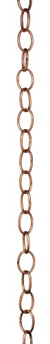 Good-Directions-485P-8-Small-Single-Link-Rain-Chain-8-12-Polished-Copper-0