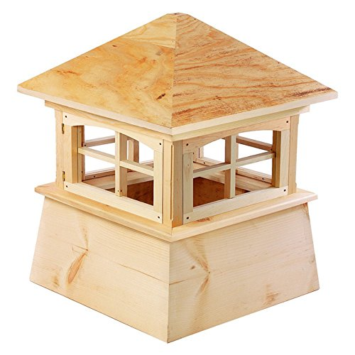 Good Directions Brookfield Pvc Vinyl Cupola With Wood Roof