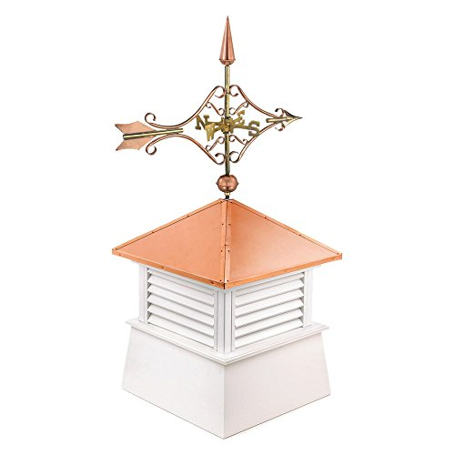 Good directions brookfield pvc vinyl cupola with wood roof for Victorian cupola