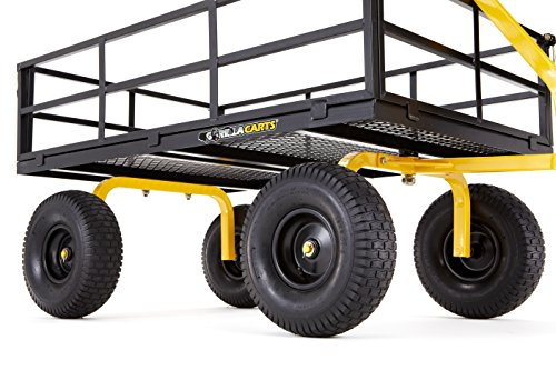 Gorilla-Carts-Heavy-Duty-Steel-Utility-Cart-with-Removable-Sides-and-15-Tires-with-1400-lb-Capacity-Black-0-1