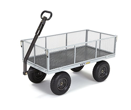 Gorilla-Carts-Heavy-Duty-Steel-Utility-Cart-with-Removable-Sides-with-a-Capacity-of-1000-lb-Gray-0
