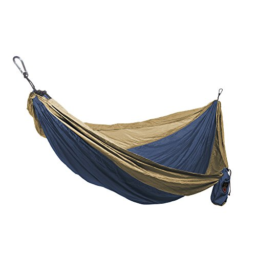 Grand-Trunk-Single-Parachute-Nylon-Hammock-with-Carabiners-0