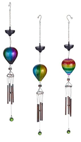 Grasslands-Road-Solar-Hot-Air-Balloon-Windchime-Set-of-3-0