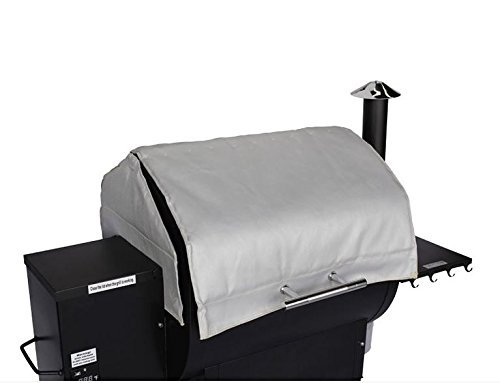 Green-Mountain-Grills-6003-Thermal-Blanket-for-Daniel-Boone-Pellet-Grill-0