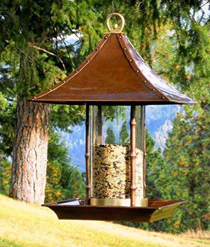 H Potter Large Bamboo Wild Bird Feeder Farm Amp Garden