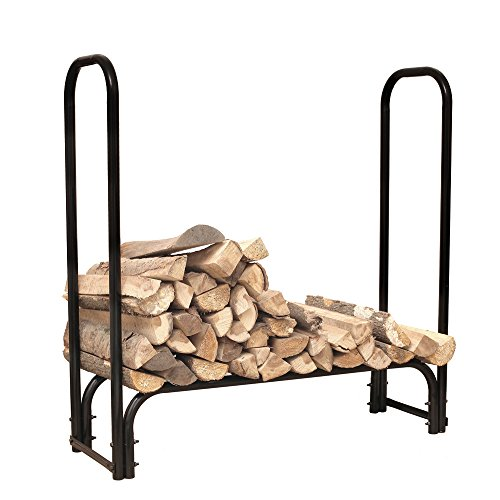 HIO-Large-Heavy-Duty-Outdoor-Firewood-Racks-4-Foot-Steel-Wood-Storage-Log-Rack-Holder-0