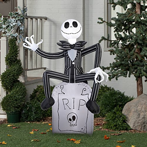 halloween inflatable outdoor scarecrow a nightmare before christmas