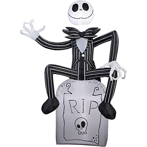 halloween inflatable outdoor scarecrow a nightmare before christmas - Teak Isle Christmas Decorations