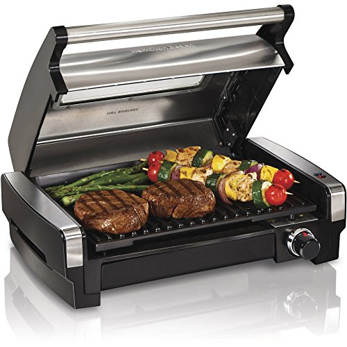 Hamilton-Beach-Searing-Grill-with-Lid-Viewing-Window-with-Adjustable-Temperature-Control-Silver-0