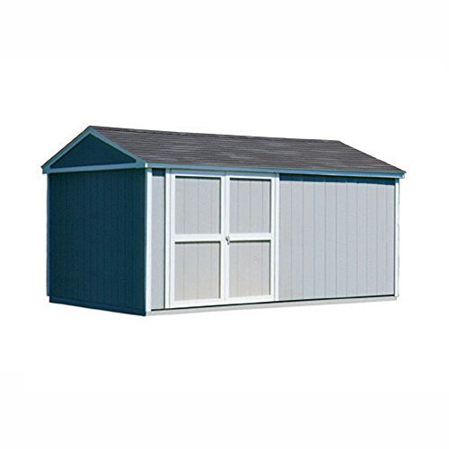 Handy-Home-Products-Somerset-Wooden-Storage-Shed-10-by-16-Feet-0