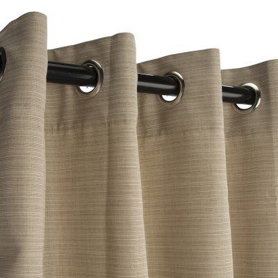Hatteras-Hammocks-Sunbrella-Outdoor-Curtain-with-Nickel-Plated-Grommets-in-Dupione-Sand-50-in-x-84-in-0-0