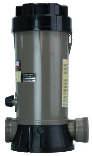 Hayward-CL200-In-Line-Automatic-Pool-Chemical-Feeder-with-Mounting-Base-0
