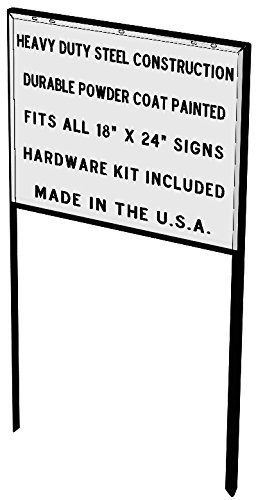 Heavy-Duty-Yard-Real-Estate-Construction-Sign-Frame-5-Pack-15-Each-0