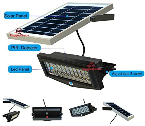 High Power 1000lumen Solar Motion Led Flood Light 10