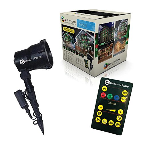 Holiday-Premium-Laser-Lights-Full-Motion-Red-Green-8-Christmas-Images-Projector-RF-Remote-0