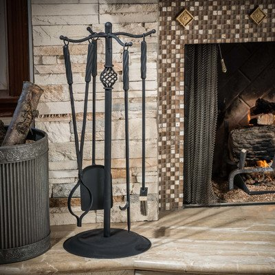Home-Loft-Concepts-Carlotta-5-Piece-Iron-Fireplace-Tool-Set-0