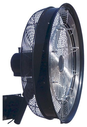 Hydromist-F10-01-006-Professional-24-inch-Shrouded-Black-Oscillating-Misting-Fan-0