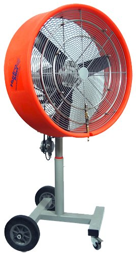 Hydromist-HMI-3000-8S-Orange-Extreme-Satellite-30-inch-Misting-Fan-0
