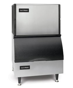 Ice-O-Matic-ICE0250FA-B25PP-336-lb-30-Air-Cooled-Full-Cube-Ice-Machine-w-Storage-Bin-0