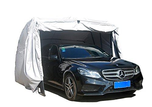 Foldable Car Tent Garage Covers : Ikuby waterproof suv foldable carport lockable