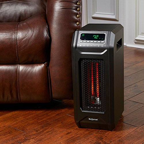 Infrared heater space heater energy efficient radiant with for Electric radiant heat efficiency