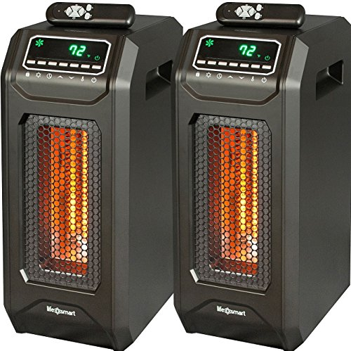 Infrared heater space heater energy efficient radiant with Best space heater for large room