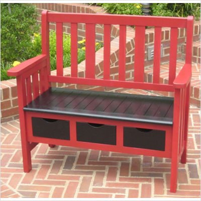 International-Caravan-3-Drawer-OutdoorIndoor-Bench-0-0