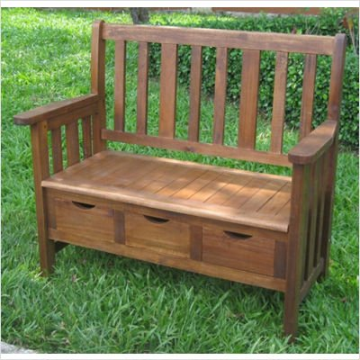 International-Caravan-3-Drawer-OutdoorIndoor-Bench-0-1