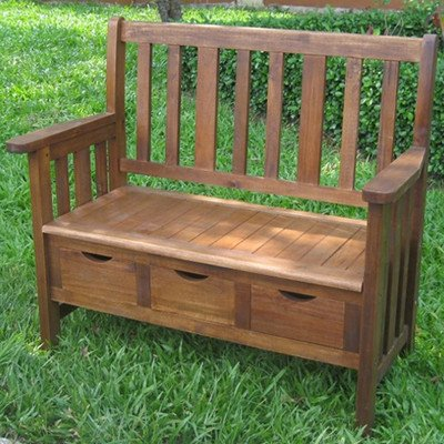 International-Caravan-3-Drawer-OutdoorIndoor-Bench-0