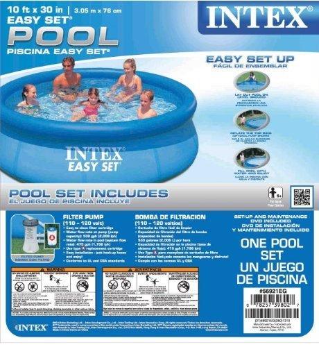 Intex 10 Feet X 30 Inch Easy Set Pool Farm Amp Garden