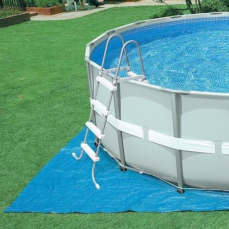 Intex 18′ x 48″ Ultra Frame Above Ground Pool And 1500 GPH Filter ...