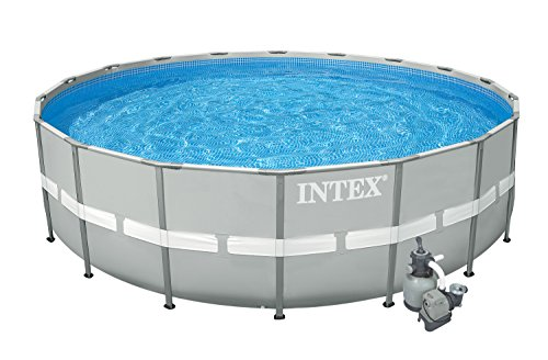 Intex 20 X 52 Ultra Frame Above Ground Swimming Pool Set