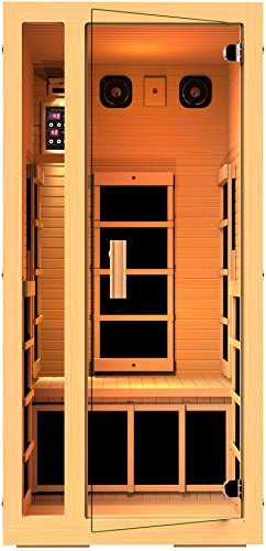 JNH-Lifestyles-Joyous-1-Person-Far-Infrared-Sauna-6-Carbon-Fiber-Heaters-5-Year-Warranty-0