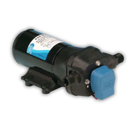 Jabsco 31620-0092 Marine ParMax 4 High Pressure Water System Pump, 4 3 GPM,  40-PSI, 12v DC, 15 Amp, Up to 5 Outlets