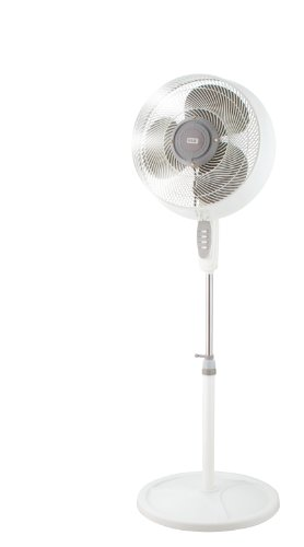 KUL-54-Watt-3-Speed-Showerproof-Tall-Oscillating-16-Inch-Diameter-Misting-Fan-54-Inch-White-0