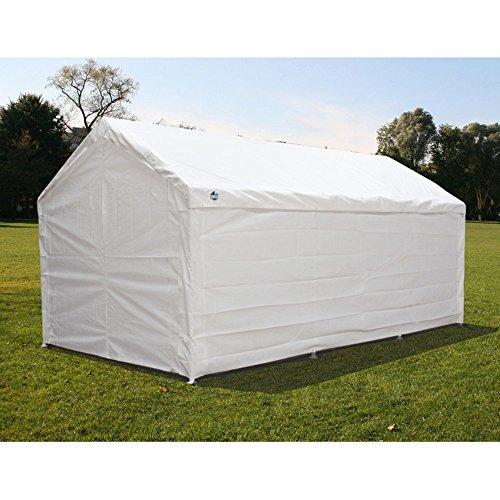Enclosed Car Canopy 10x20 : King canopy ft hercules enclosed carport