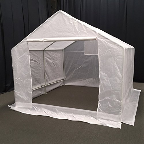 King-Canopy-GH1010-10-Feet-by-10-Feet-Fully-Enclosed-Greenhouse-Clear-0-1