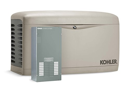 Kohler-20RESAL-100LC16-20000-Watt-Air-Cooled-Standby-Generator-with-100-Amp-16-Circuit-Automatic-Transfer-Switch-0