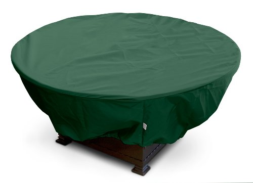 KoverRoos-Weathermax-63067-Large-Firepit-Cover-45-Inch-Diameter-by-21-Inch-Height-Forest-Green-0