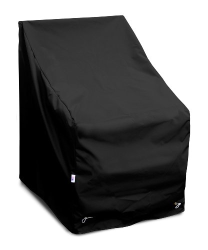 KoverRoos-Weathermax-79812-High-Back-Lounge-Chair-Cover-32-Inch-Width-by-33-Inch-Diameter-by-40-Inch-Height-Black-0